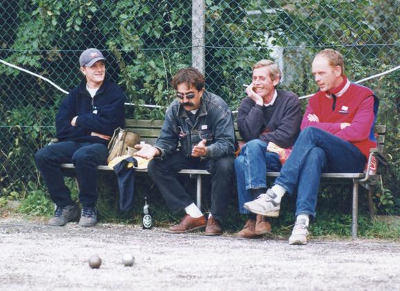 Klaus, Jacky, Finn og Niels